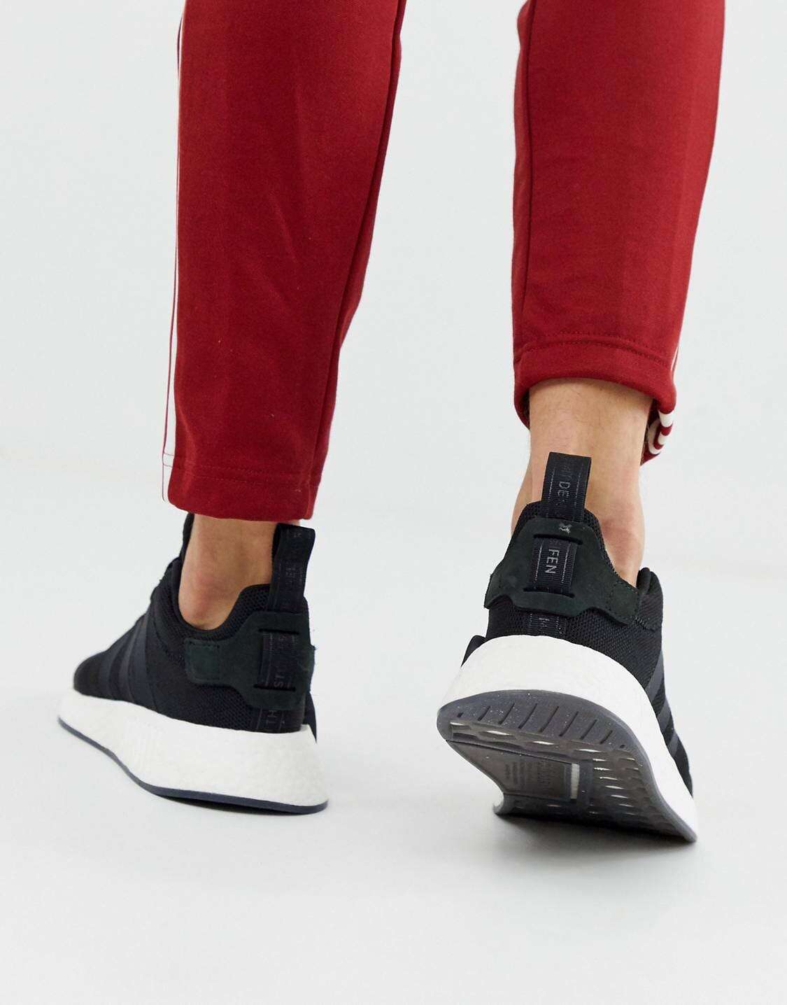 finest selection ad07e eb222 STEAL) Adidas NMD R2 Black , Men's Fashion, Footwear ...