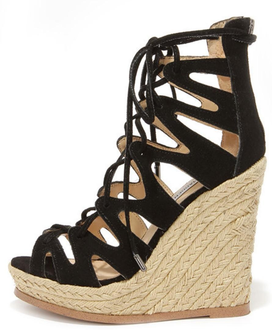 Steve Madden Lace-up Wedge, Women's