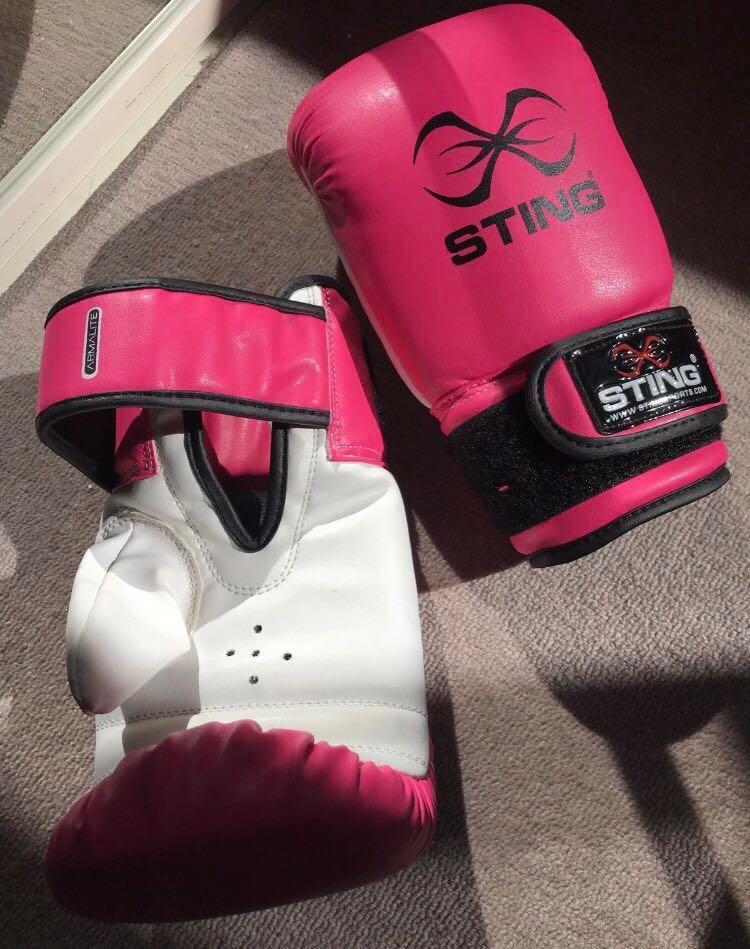 Sting boxing gloves