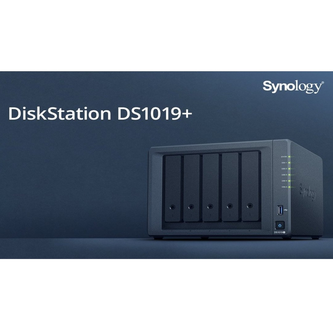 [EASTER PROMO] Synology DiskStation DS1019+ 5-Bay Diskless Scalable Network  Attached Storage