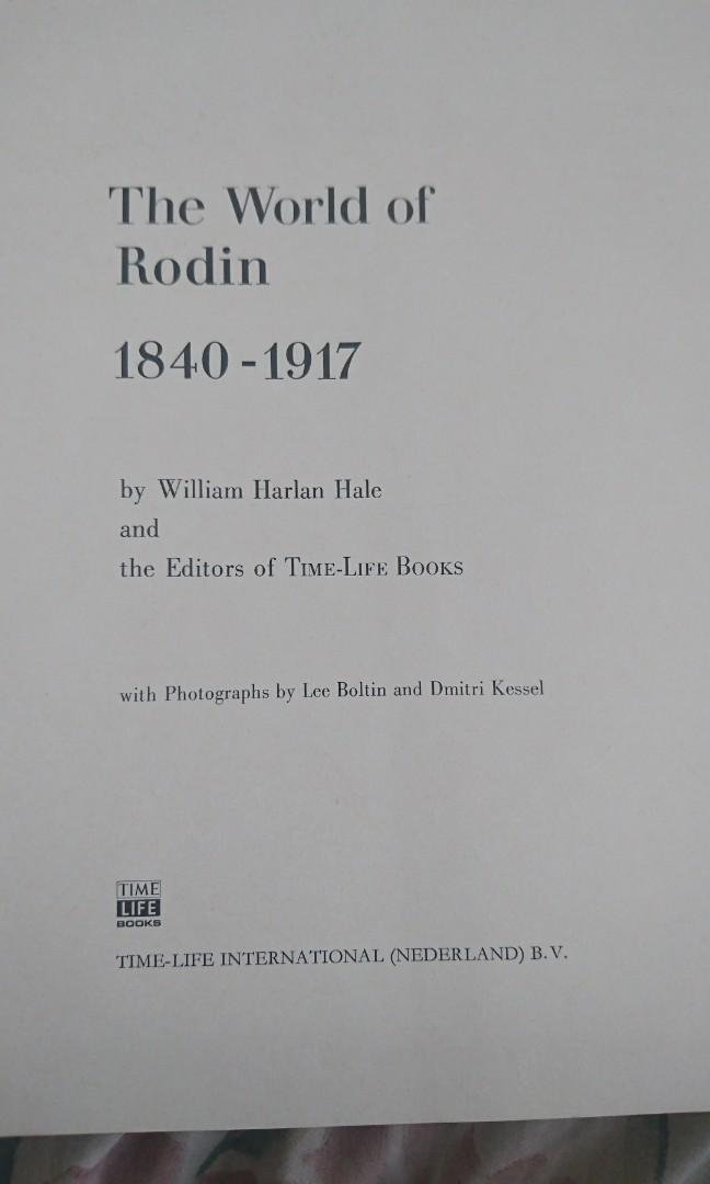 The world of rodin authentic book #dibuangsayang