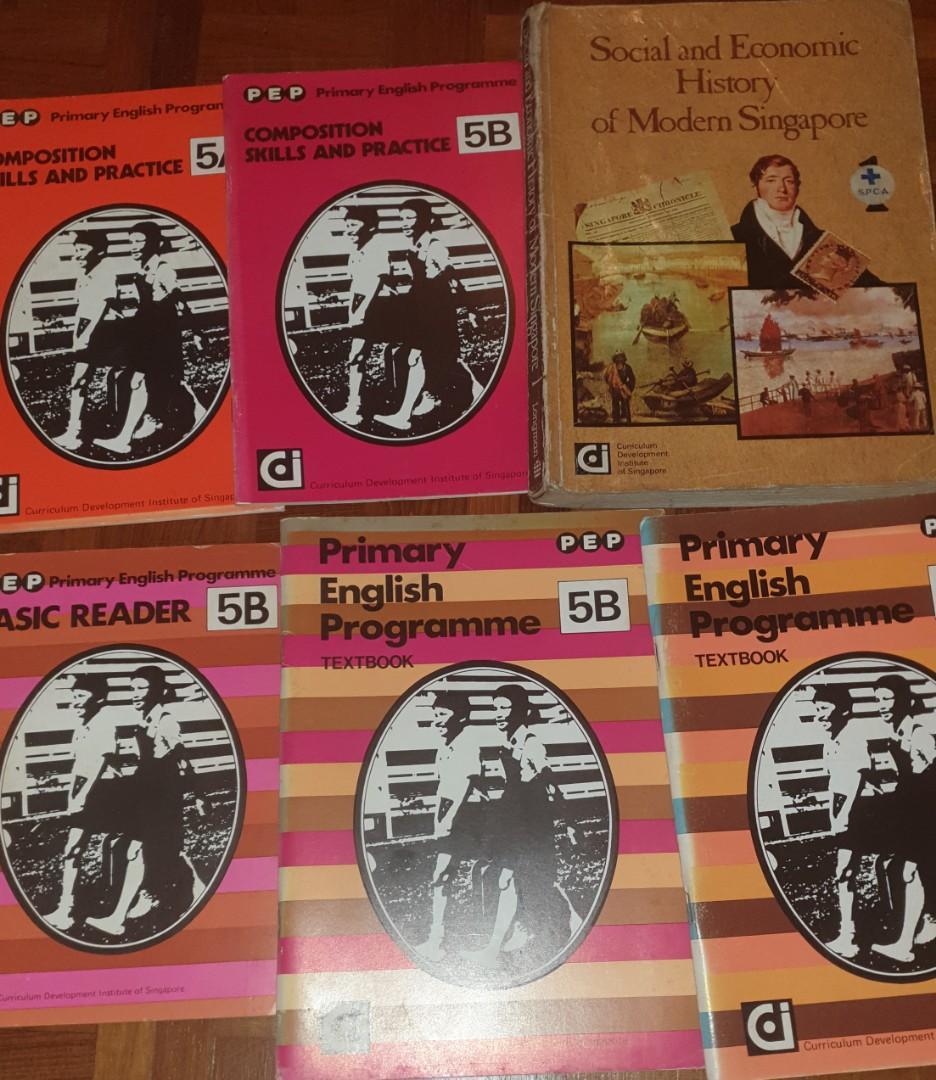 Vintage primary school books (rental only)