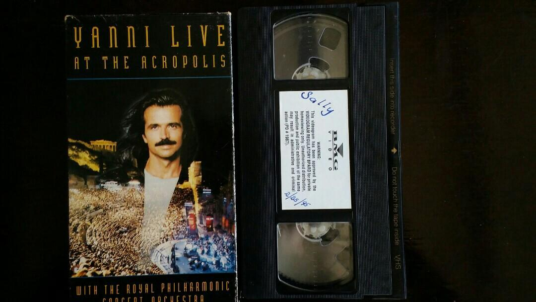 Yanni Live at the Acropolis VHS on Carousell