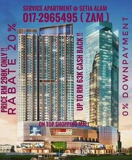 New Freehold Service Apartment @ Setia Alam
