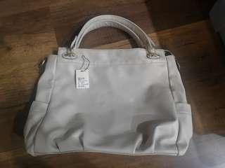 Voir beige large bag