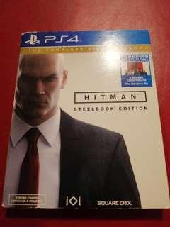 Ps4 Hitman Steel Book Edition