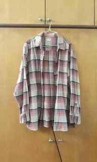Oversized Faded Flannel