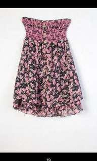 雪紡兩穿可洋裝可當裙子