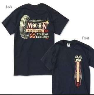 Mooneyes tee black M