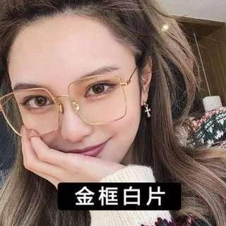 Kacamata bening high quality with kotaknya