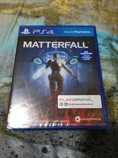 BNIB PS4 Matterfall