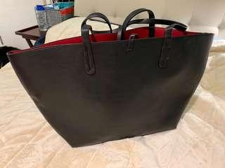 Zara bag faux leather bag