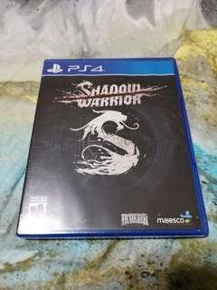 BNIB PS4 SHADOW WARRIOR