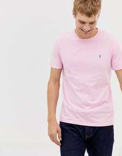BNWT Polo Ralph Lauren Rose Light Pink Crew Neck Tee