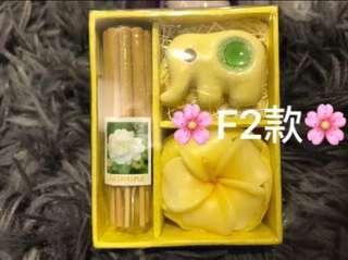 🚚 ☘️[快速出貨]☘️泰國大象蠟燭、線香