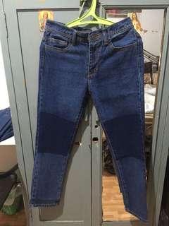 Boyfriend Patches Jeans