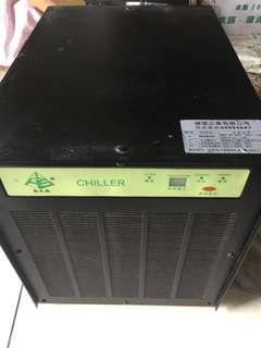 二手台製冷水機 1/3HP 220V用電
