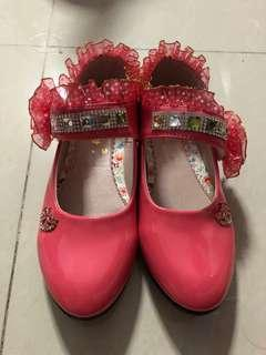 Girl Shoes / heels / covered shoes