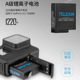 GoPro HERO 7/6/5 勁量十足優惠套裝 (Telesin)包順豐