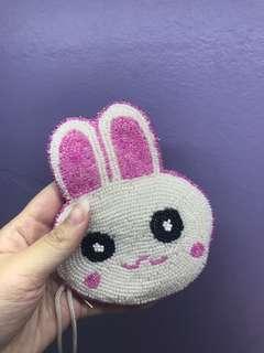 Little bunny handcraft coins holder