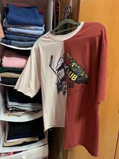 🚚 Uneven tshirt