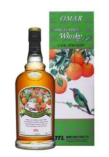 OMAR 首批原桶強度單一麥芽威士忌(柳丁酒桶)  OMAR CASK STRENGTH NANTOU DISTILLERY