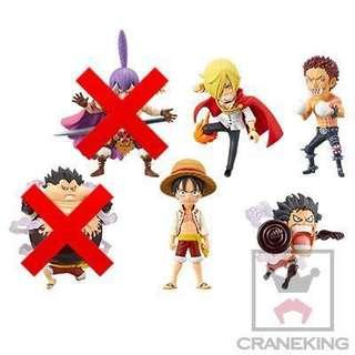日版 海賊王 One Piece WCF Battle of Luffy Whole Cake Island