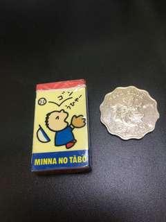 大口仔 Minna No Tabo 絕版 擦膠