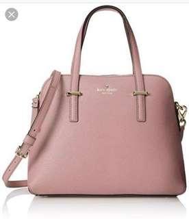 Pink Kate Spade shoulder bag - Cedar Street Maise Leather Shoulder Bag