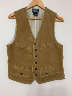 Polo Ralph Lauren Corduroy Khak vest [New without tag]