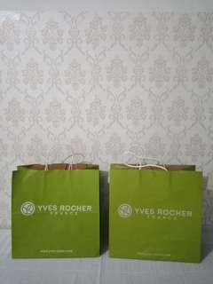 Paperbag yves rocher