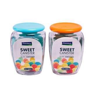 Glasslock糖果甜心玻璃儲物罐 - 815ml二入組