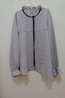 Grey blouse