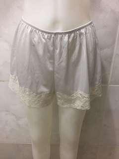 Sexy lacie white nightie short