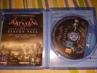 Kaset Game PS4 Batman Arkham Knight (BD Blueray disc)