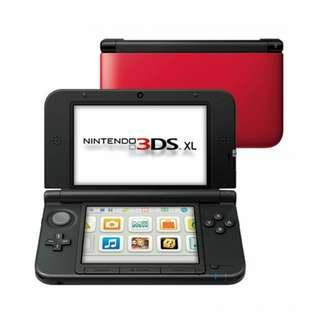 Nintendo 3DS XL -Red