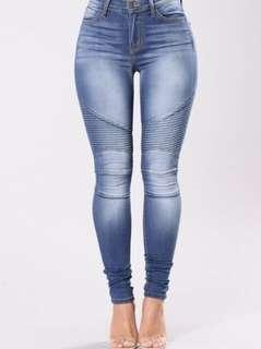 Fashion Nova Blue Jeans