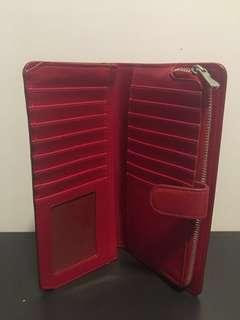 Coach skinny wallet (red)