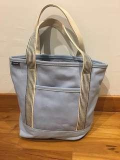 🚚 Super hardy Lands' end baby blue maternity bag