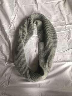 Grey Infinity scarf