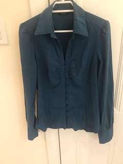CUE size 8 shirt