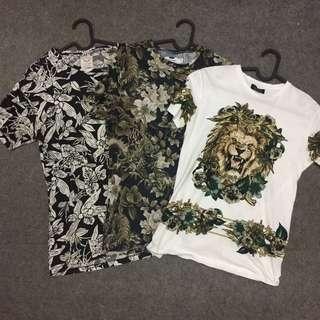 Topman Zara tshirt