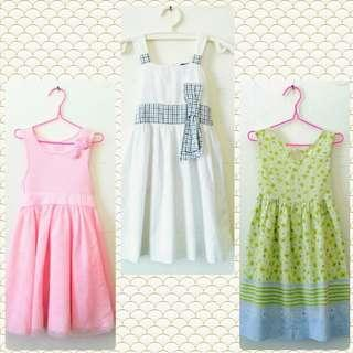 Girl's Pretty Dresses Branded