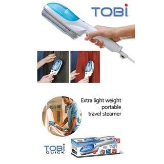 TOBI Travel Steamer. Wipe Out Wrinkles at 5 Times the Speed. Lightweight Portable. Ideal Travel
