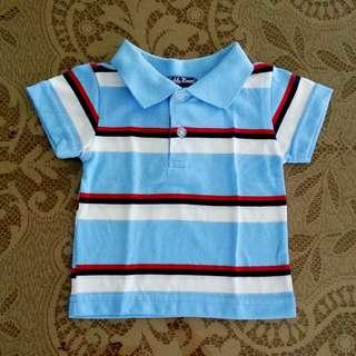 Teddy Boom Boy's Striped Polo Shirt