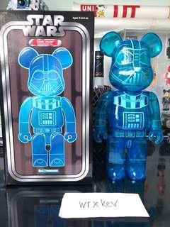 Bearbrick 400% Darth Medicom