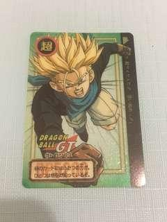 Dragonball Card Transparent carddass