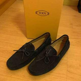 🚚 Tods suede loafers (blue)