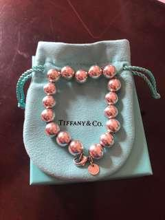 Tiffany bead ball bracelet