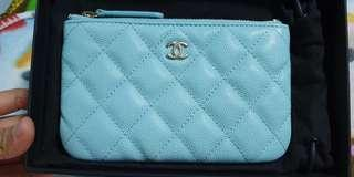 🚚 Chanel mini o case 19c tiffany